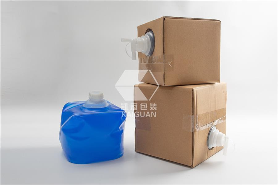 Soap hand sanitizer packaging cubitainer bag in box (2)